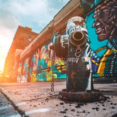 street art - 21 ways to use your treasure map