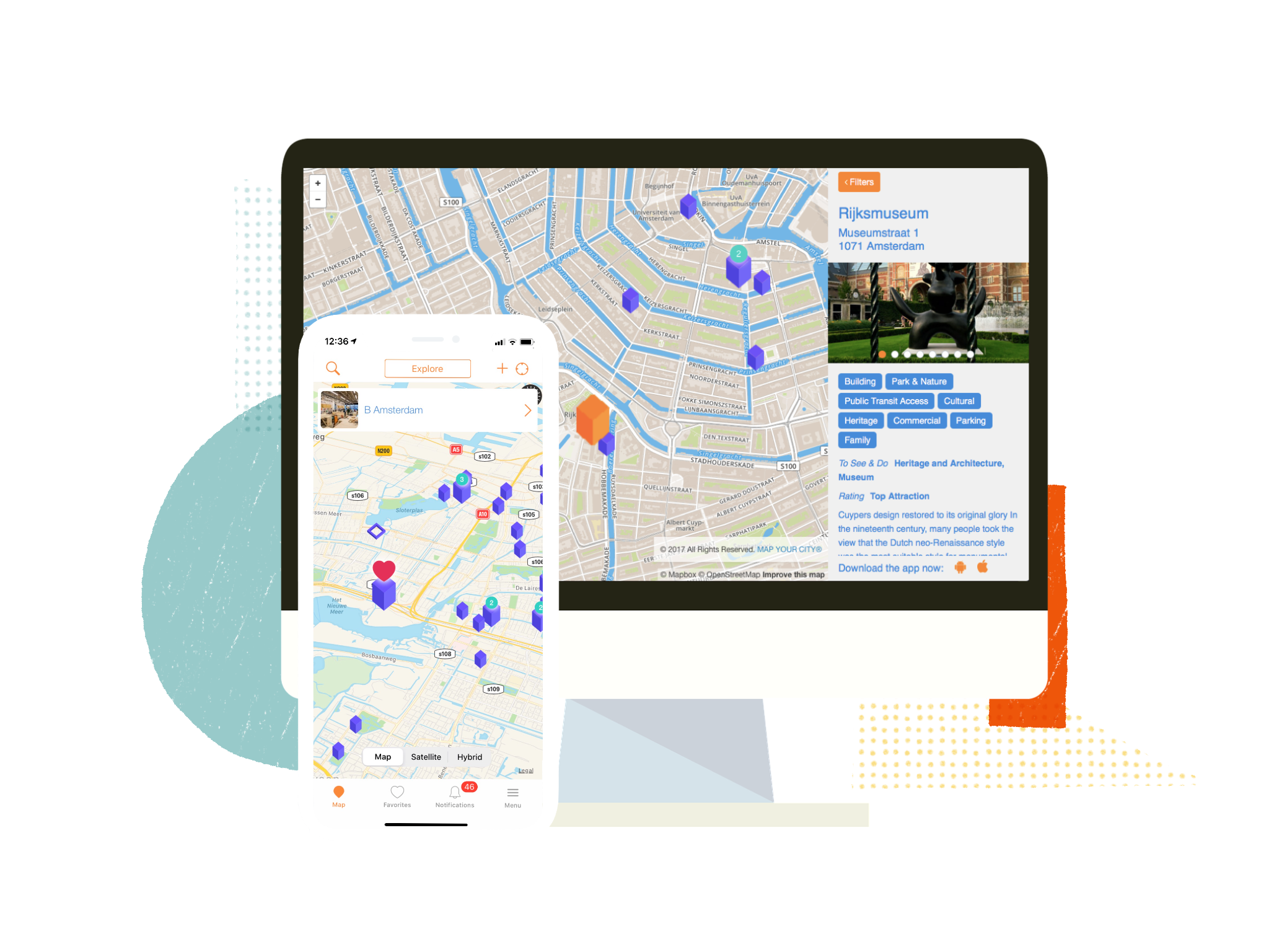 Map Your City, Storyteller, a city, town, event organizer, travel vlogger, photographer