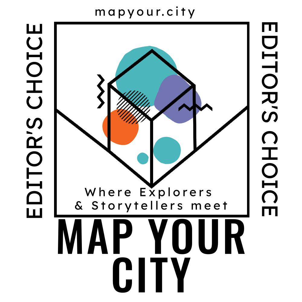 Map Your City Editor's choice sticker